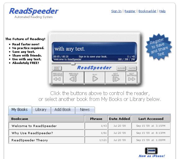 speed reading tools