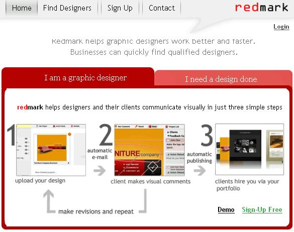redmark   RedMark: Web Design Collaboration Made Easy
