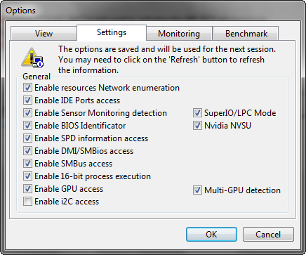 Get Detailed Info About Your OS & Hardware with PC Wizard settings2