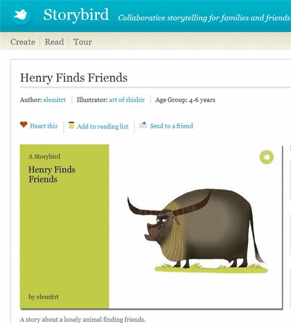 storybird 1   StoryBird: Create, Share & Read Storybooks Online