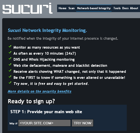 sucuri   Sucuri: Free Website Security Monitoring