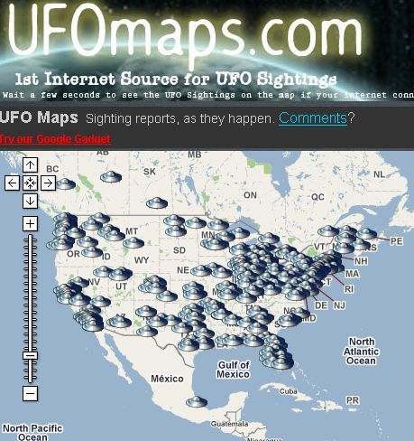 Top 8 Websites To Find The Latest UFO Sightings