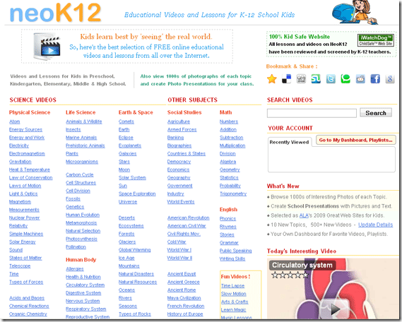 educational kids websites