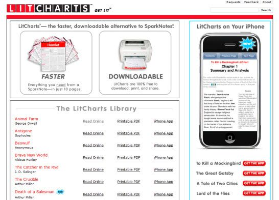 LitCharts - Literature Review Examples to Help You Study Fast