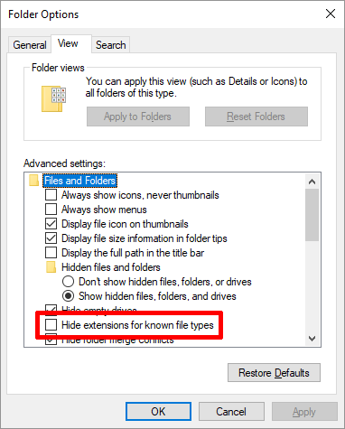 How to Convert a DAT File Into a Word Doc Folder Options