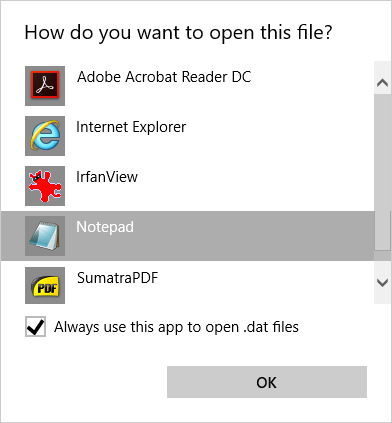 How to Convert a DAT File Into a Word Doc Open DAT File