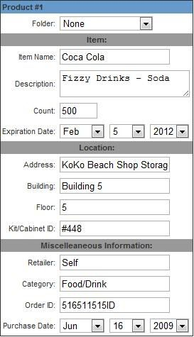 expiration date tracking
