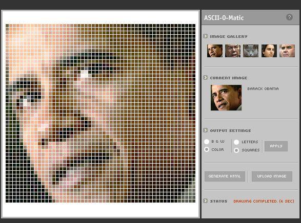 generate ascii art picture