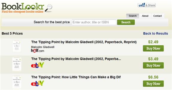 book price comparison site