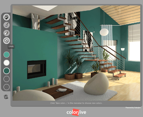colorjive   ColorJive: Choose The Right Paint Color By Painting Your Room Online