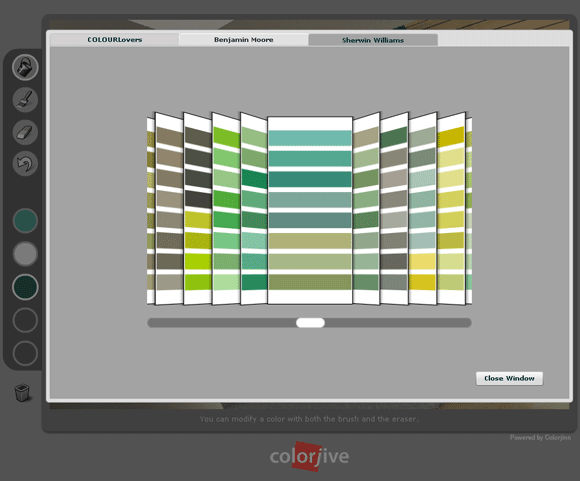 colorjive1   ColorJive: Choose The Right Paint Color By Painting Your Room Online