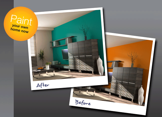 colorjive2   ColorJive: Choose The Right Paint Color By Painting Your Room Online