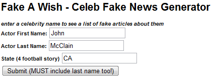 Top 3 Fake News Prank Story Generators fake