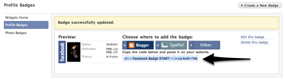 How To Use A Facebook Badge As Your Email Signature [Mac] fb profile badge