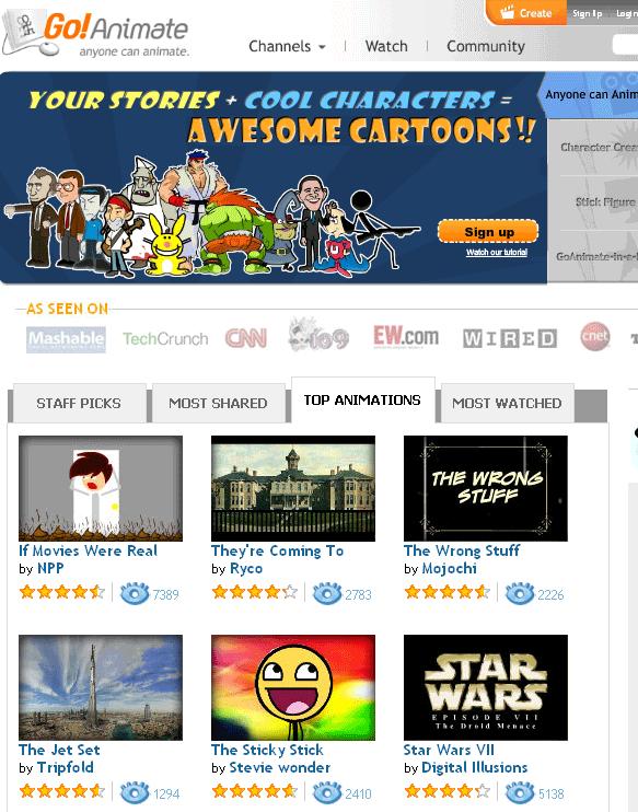 cartoon animator online