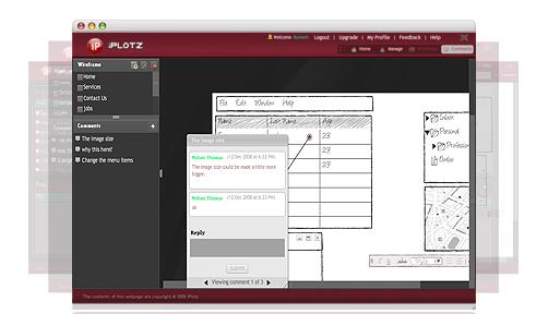 create website wireframes