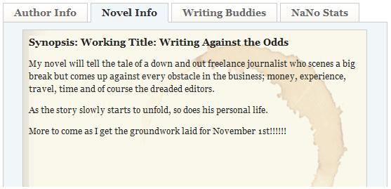 novel in 30 days