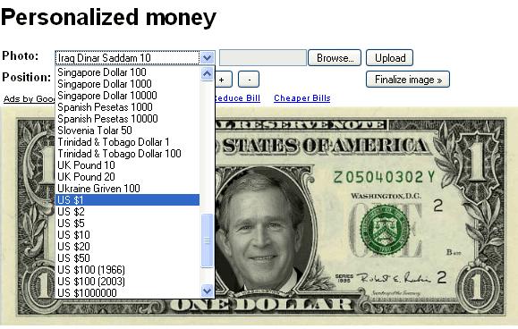 personilizedmoney Personalized Money Generator