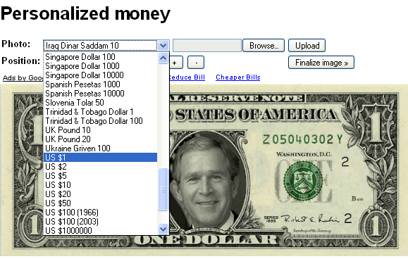 personalized money maker