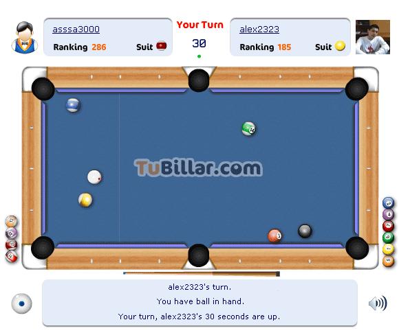 play pool game online