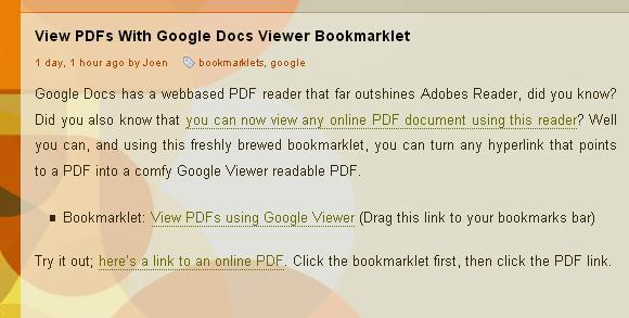 google online pdf viewer