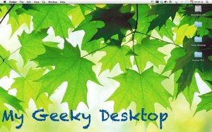 GeekTool – Display System Information on Mac in Style