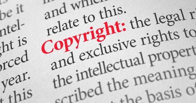 This Is Exactly How to Handle a Copyright Infringement Notice Copyright definition big letters