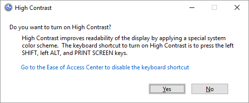 Some Cool Keyboard Tricks Few People Know About High Contrast