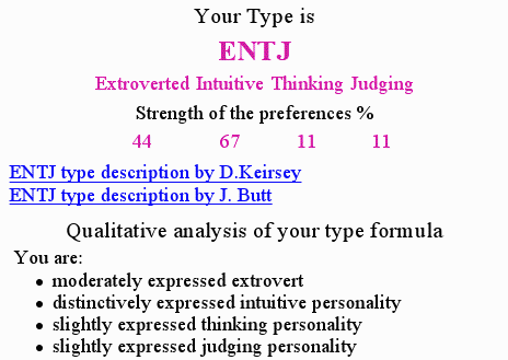free personality tests