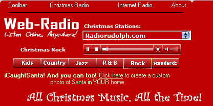 free christmas radio music