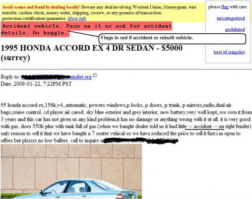 Craigslist Car Research: Makes Buying Cars on Craigslist a Lot Easier adonflaggs thumb