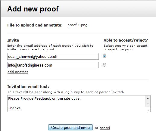 document proofing