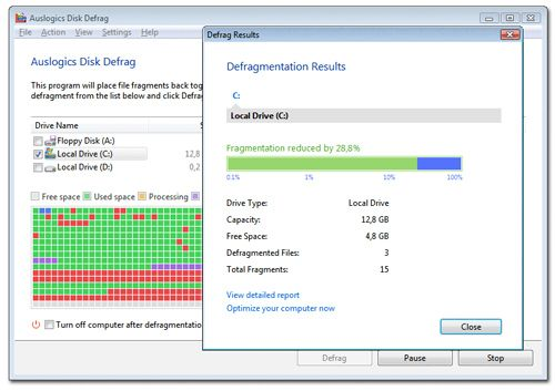 Roundup: 15 Must-Have Free Software Programs for Your PC auslogics disk defrag
