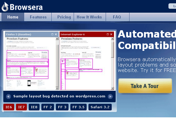 browsera   Browsera: Test Your Site in Different Browsers