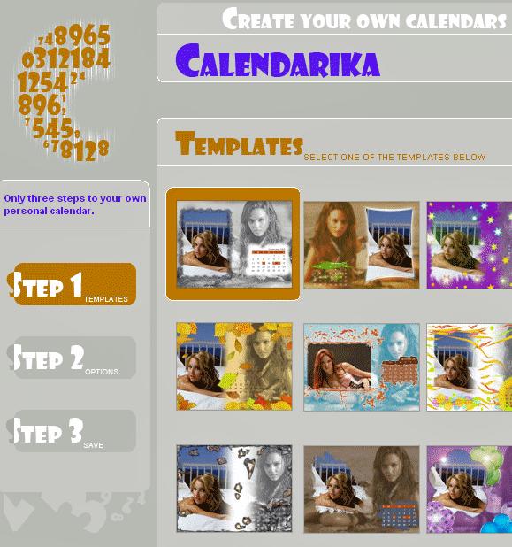 calendarica   Calendarika: Create Personal Calendar Online