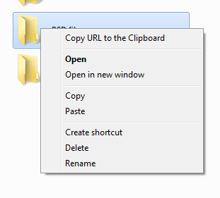 Easily Manage Files On Your Windows Skydrive With Skydrive Explorer copyurl
