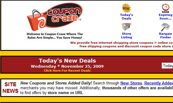 thousands of coupons