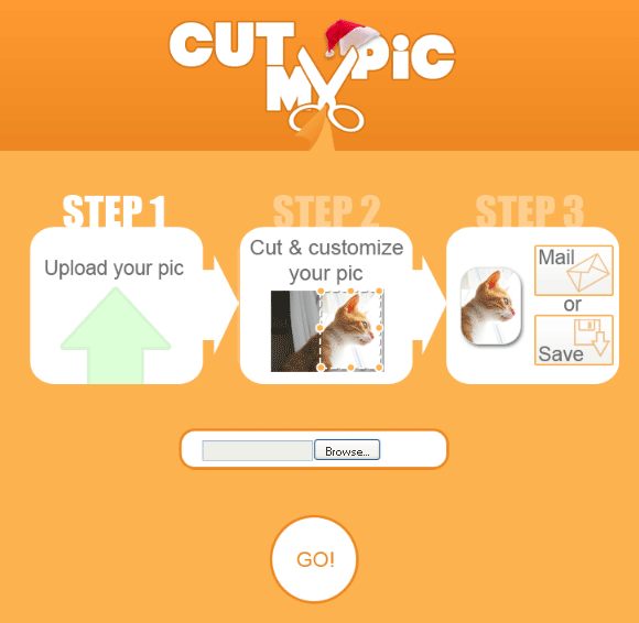 cutmypic   CutMyPic: Online Picture Cutter