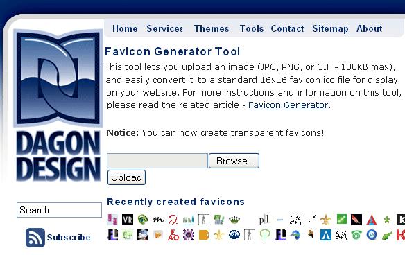 turn image into favicon