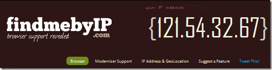 show ip address