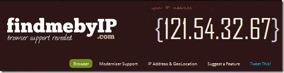 show ip address