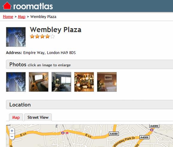 interactive hotel maps online