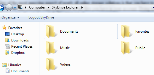 Easily Manage Files On Your Windows Skydrive With Skydrive Explorer skydrive