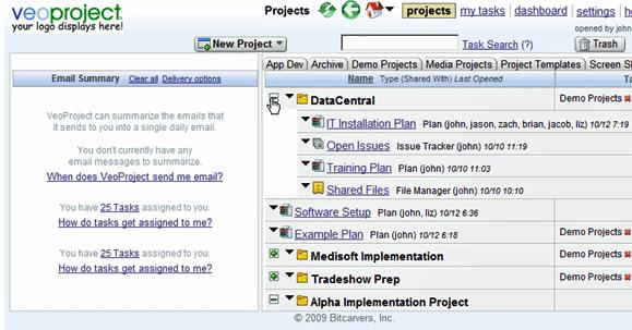 project management tools