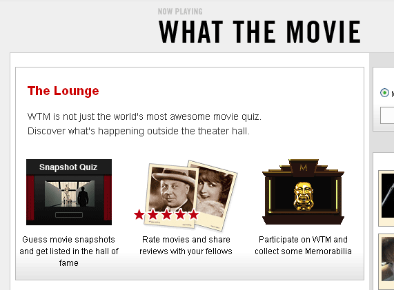 movie quiz site