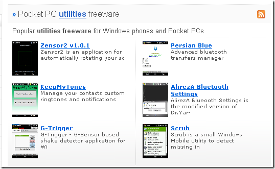 windows mobile freeware