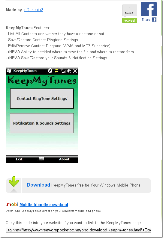 windows mobile free software