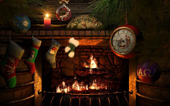 christmas theme desktops - Animated Christmas Screensavers