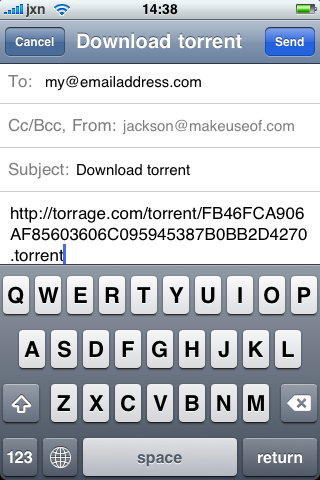 How To Remotely Trigger A Torrent Download Via Email [Mac] IMG 0740