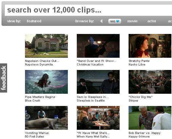 watch free movie clips
